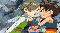 Giro und Shu streiten sich