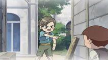 Jiro beschützt seine Schwester