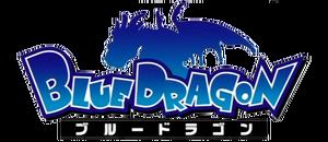 Blue dragon anime logo