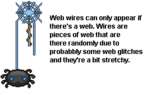 Web wire thing