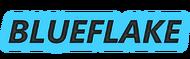 Blueflake glow logo test