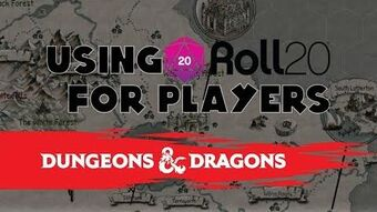 Video - Using Roll20 for Players (5e D&D) | Blue Hoods Wiki