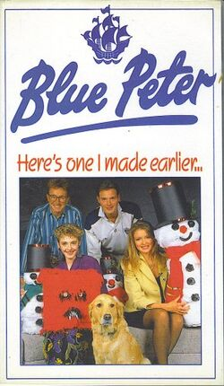 Blue Peter Here's one I made Earlier (VHS)