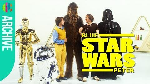Star Wars cast on Blue Peter in 1980!