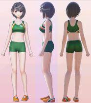 Hinako Shirai Sports 3D Model