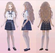 Raimu Shijou School Uniform 3D Model
