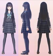 Yuri Saiki School Uniform 3D Model