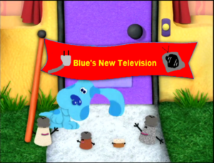 Blues new television