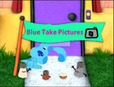 Blue Take Pictures