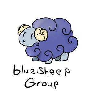 Blue sheep group
