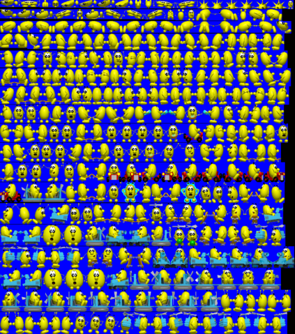 File:Speedy Eggbert 2 Yellow Blupi Sprite Sheet.png