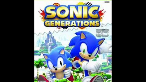 Sonic Generations (Silver Boss Battle Theme) Music (HQ) 2011