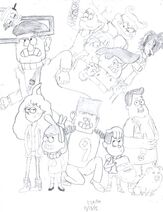 Hallobar Gravity Falls