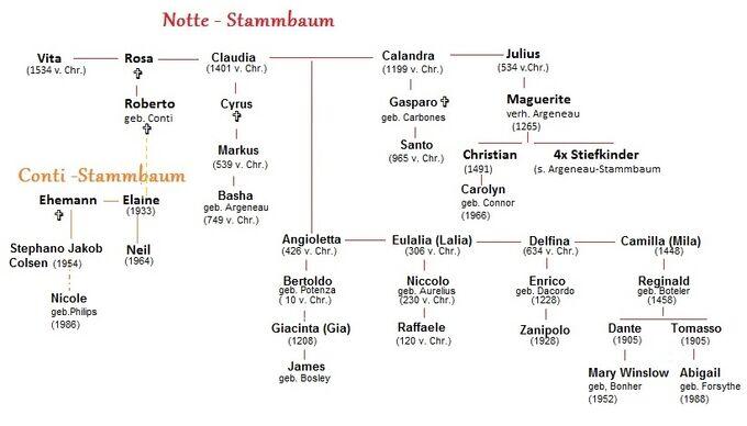 Notte Stammbaum (eigenes)