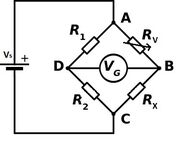 Wheatstone bridge vari