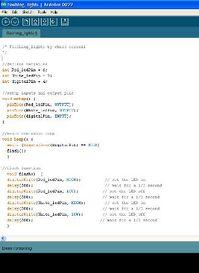 Arduino screenshot eviroment