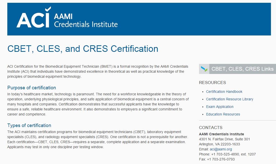 Certified Biomedical Equipment Technician Bmet Wiki Fandom