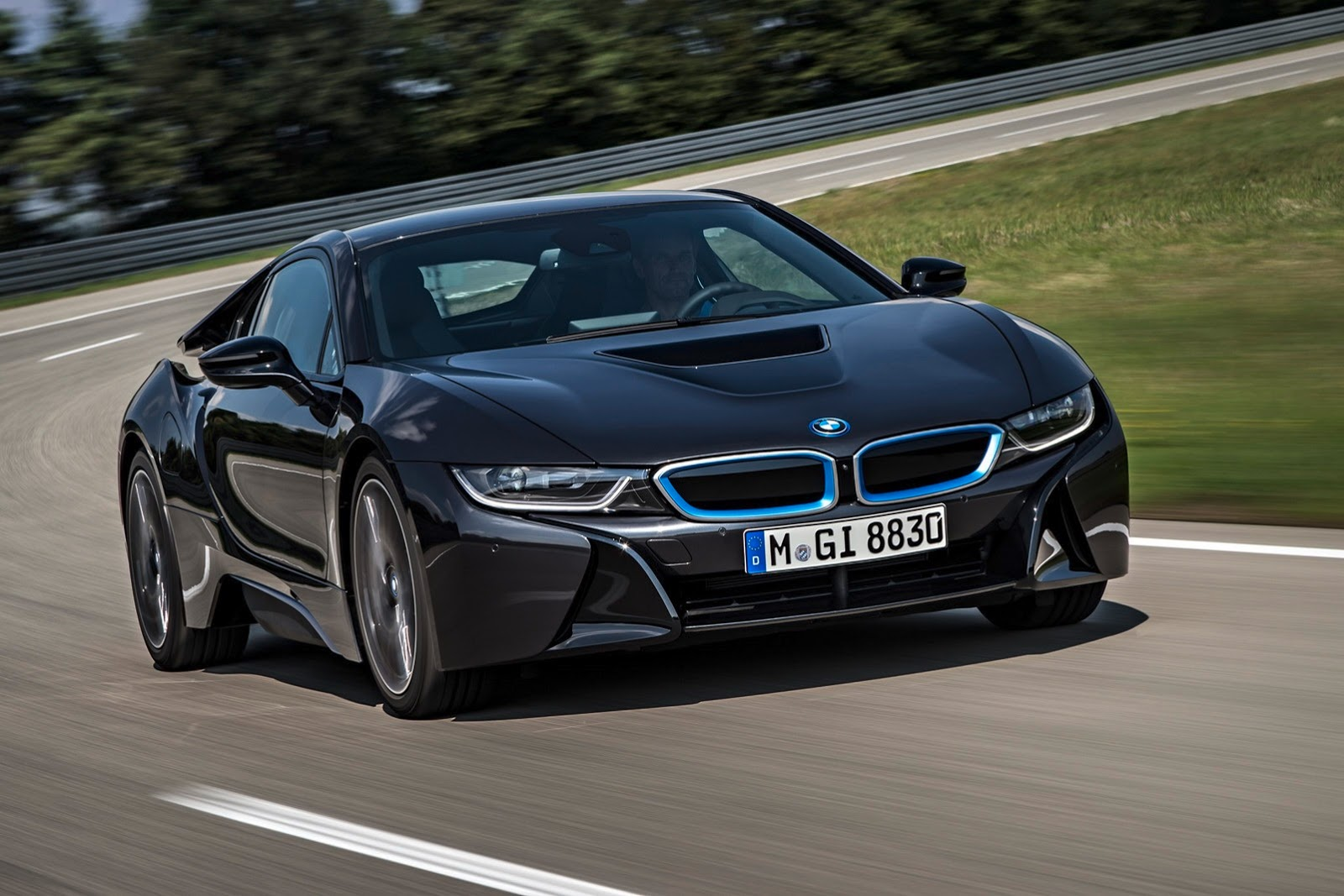 The New Bmw I8 Note It S Formerly Name Was Efficentdynamics As A Concept