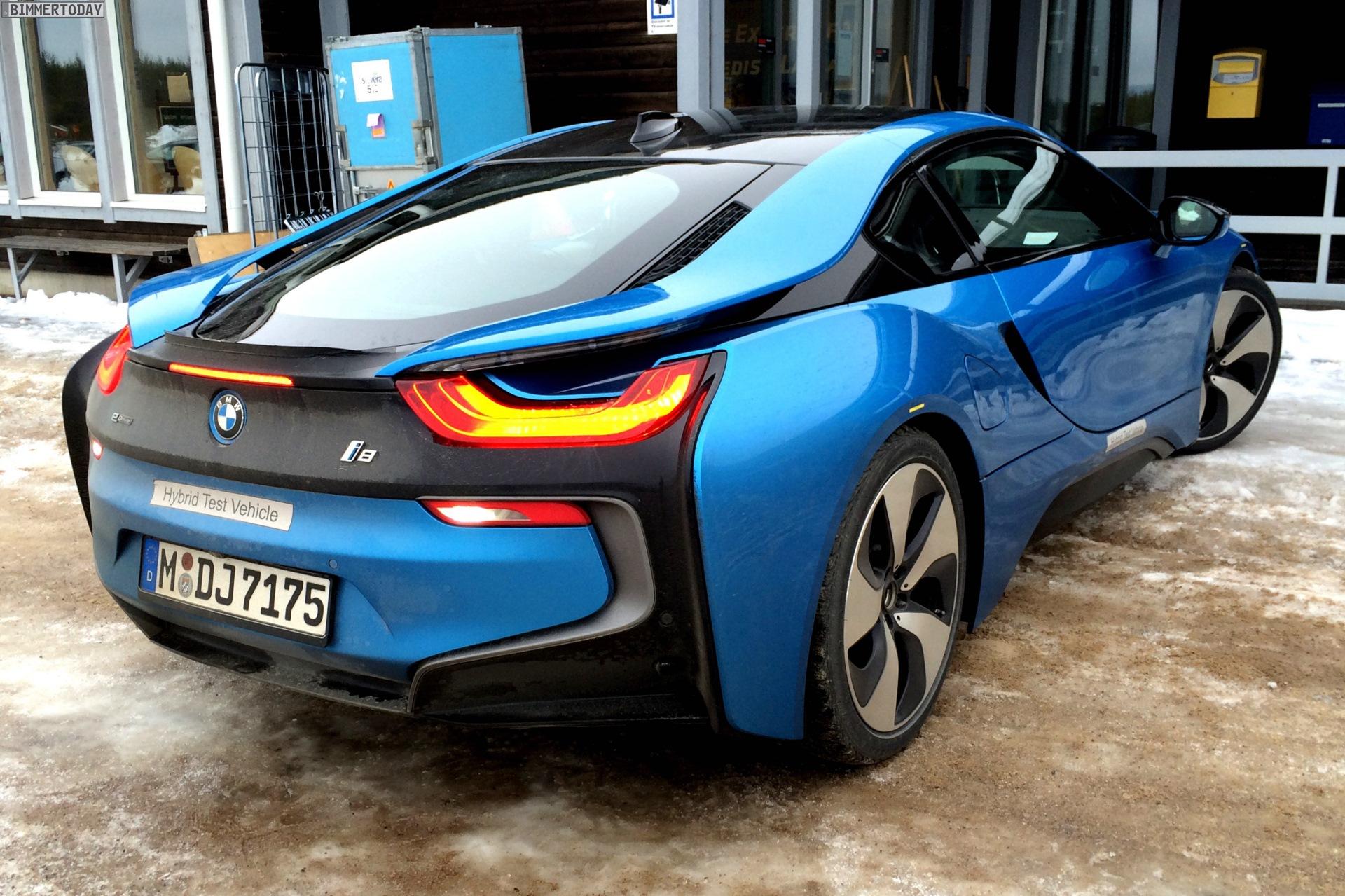 Image Bmw I8 Protonic Blue Blau Plug In Hybrid Sportwagen 05 Jpg