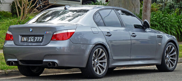 Image - 2007-2010 BMW M5 (E60) sedan 02.jpg | BMW Wiki | FANDOM ...