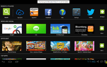 BlueStacks Full Screen