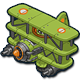 Air triplane icon