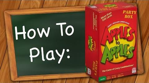 How to Play Apples to Apples