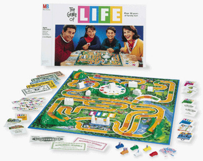 the game of life board games galore wiki fandom powered by wikia rh board games galore wikia com Life Rules Star Wars Game Hasbro Game Rules of Life