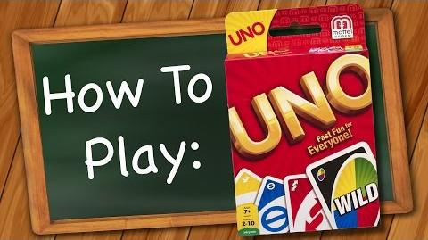 How to play- Uno