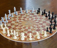Three-player-chess-board