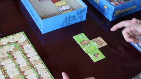 Let's Play Carcassonne- Board Game Overview and Rules