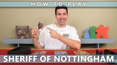 Sheriff Of Nottingham - How To Play