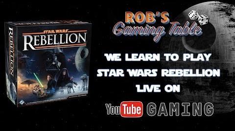Star Wars Rebellion - Live Stream