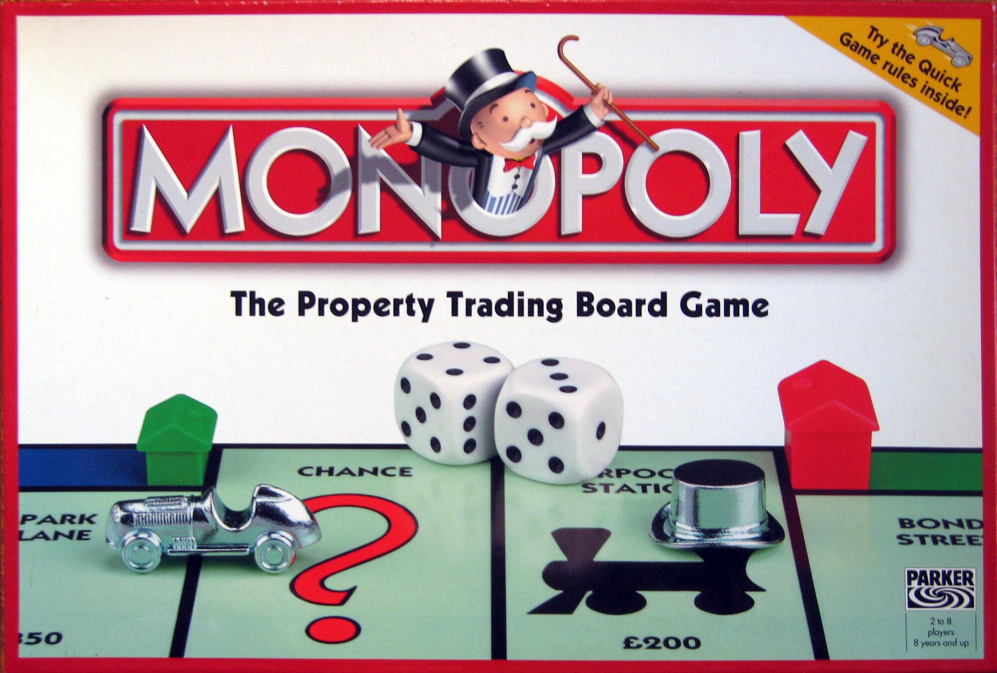 Monopoly Board Games Galore Wiki Fandom Powered By Wikia