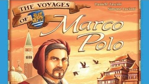 The Voyages of Marco Polo - Board Game Playthrough