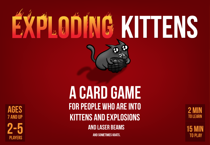Exploding Kittens Board Games Galore Wiki Fandom Powered By Wikia