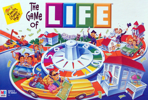 Life Board Game Career Cards