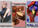(4)Lightning vs (15)Donkey Kong vs (24)Falco Lombardi 2013