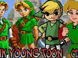 Classic Link vs Young Link vs Toon Link vs CD-I Link 2008