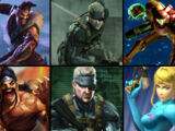 (3)Draven vs (1)Solid Snake vs (1)Samus Aran 2013
