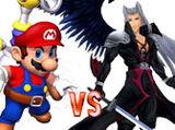 (1)Mario vs (2)Sephiroth 2003
