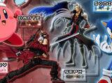 Kirby vs Dante vs Sephiroth vs Sonic the Hedgehog 2008