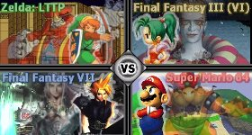 Link To The Past Vs Final Fantasy Vi Vs Final Fantasy Vii Vs Super