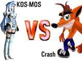 (7)KOS-MOS vs (10)Crash Bandicoot 2003
