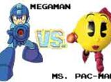 (6)Mega Man vs (11)Ms. Pac-Man 2002