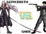 (7)Sephiroth vs (10)Gabe Logan 2002