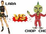 (1)Lara Croft vs (16)Chop Chop Master Onion 2002