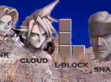 Link vs Cloud Strife vs L-Block vs Solid Snake 2007