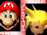 (1)Mario vs (2)Cloud Strife 2002