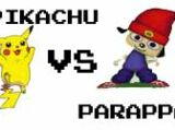 (7)Pikachu vs (10)PaRappa the Rapper 2002
